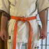 Oranger Gürtel